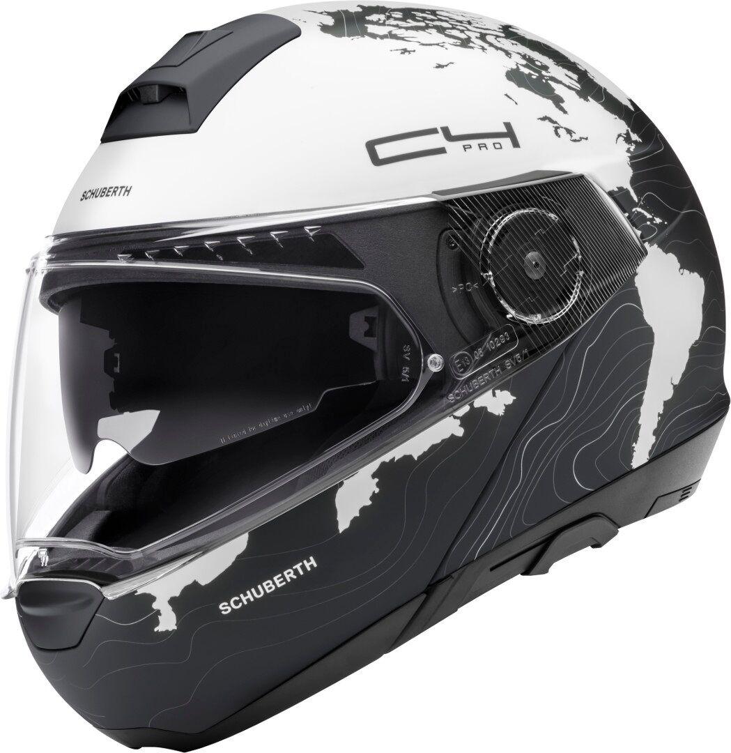 Schuberth C4 Pro Magnitudo hjelm 2XL Hvit