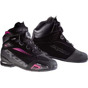 Ixon Bull WP L Ladies motorsykkel sko 36 Svart Rosa