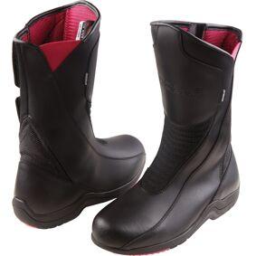 Modeka Bunbury Ladies motorsykkel støvler 39 Svart
