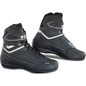 TCX Rush 2 Air Limited Edition perforerte Ladies Motorsykkel sko 40 Svart Hvit