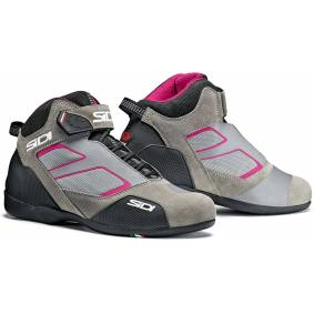 Sidi Meta Ladies motorsykkel sko 39 Grå Rosa