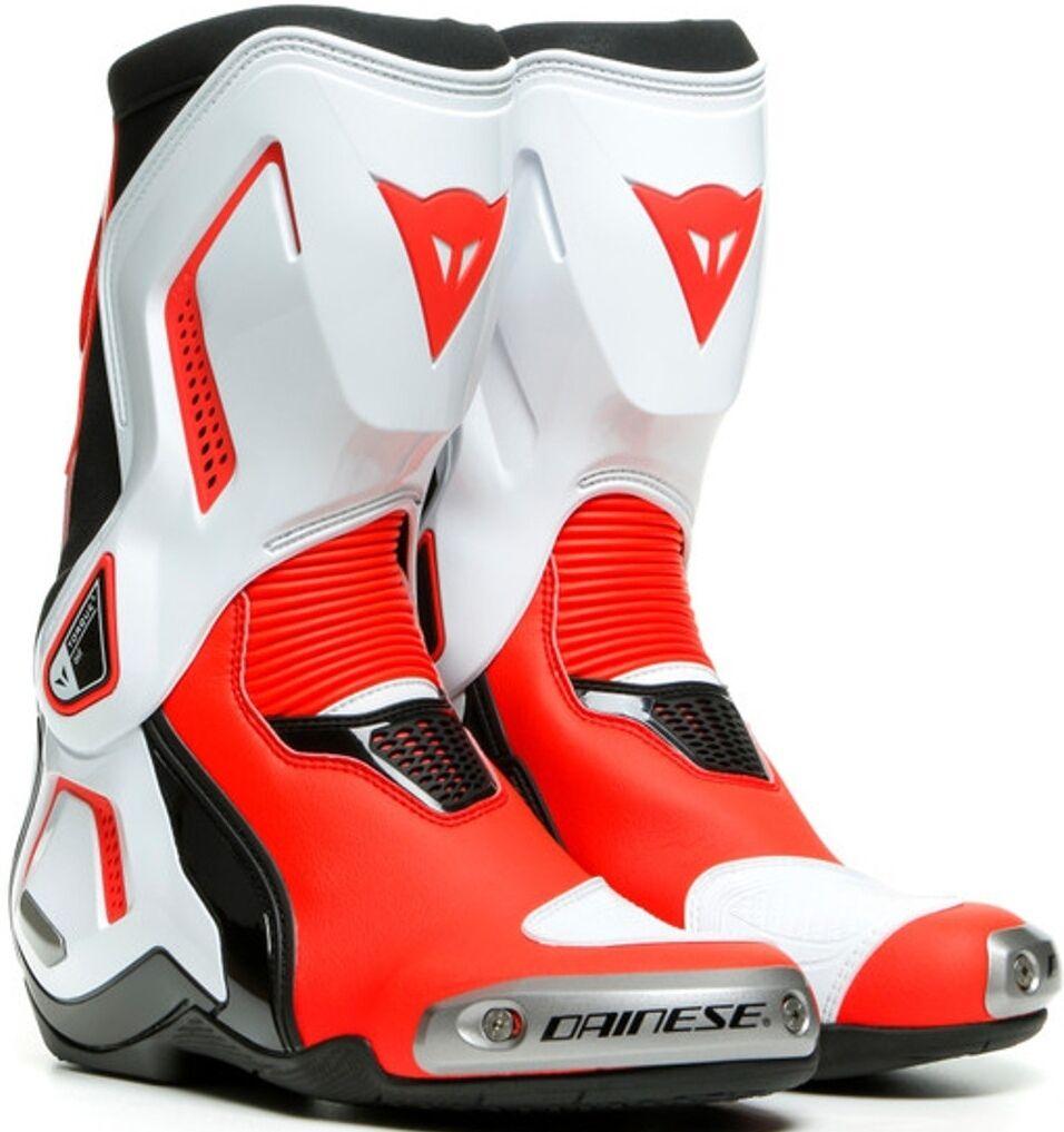 Dainese Torque 3 Out Ladies motorsykkel støvler 40 Svart Hvit Rød
