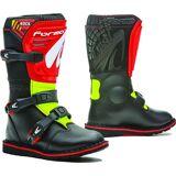 Forma Trail Rock Kids Motocross støvler Svart Rød Gul 35