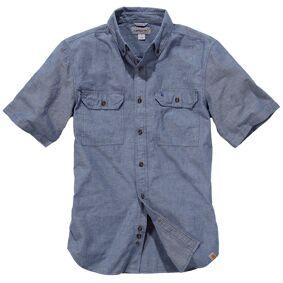 Carhartt Fort Solid Kort ermet skjorte S Blå