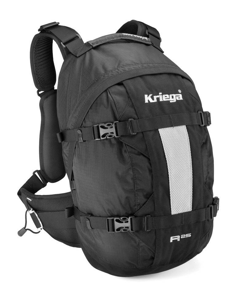 Kriega R25 Backpack Ryggsekk M 11-20l 21-30l Svart