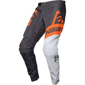 Answer Racing Answer Syncron Voyd Ungdoms Motocross Bukser M Svart Hvit Oransje