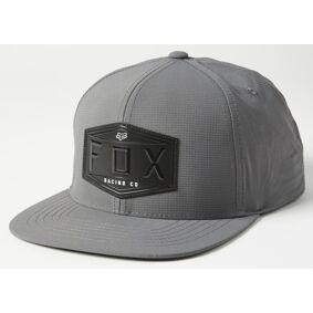 FOX Emblem Snapback Cap en størrelse Grå