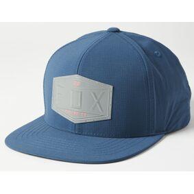 FOX Emblem Snapback Cap en størrelse Blå