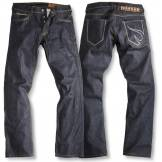 Rokker Red Selvage Jeans RAW Motorcycle Pants Motorsykkel bukser Blå 29