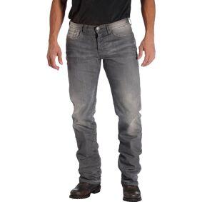 Rokker Rebel Motorcycle Jeans Motorsykkel Jeans 36 Grå
