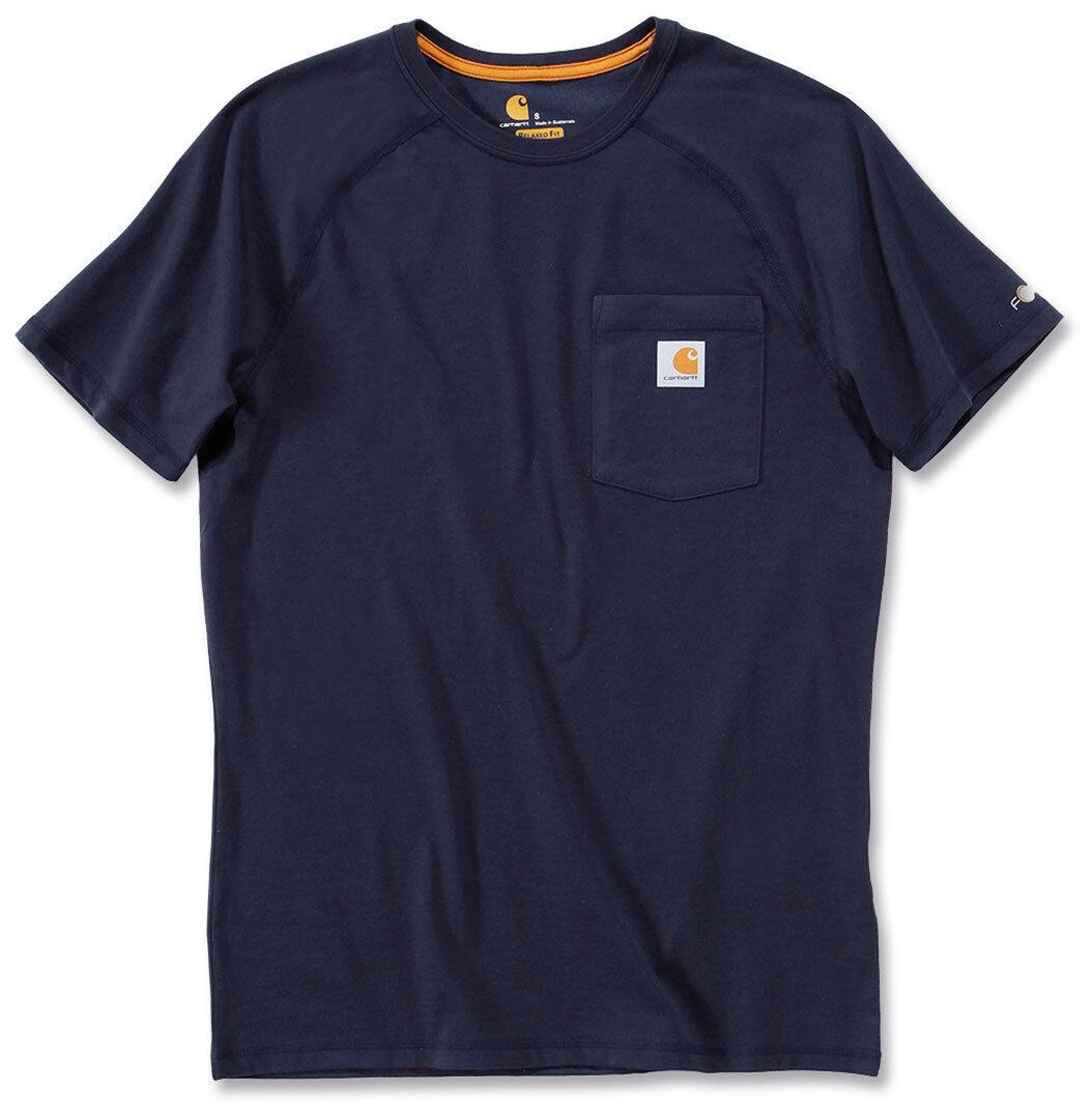 Carhartt Force Sotton T-skjorte Blå 2XL