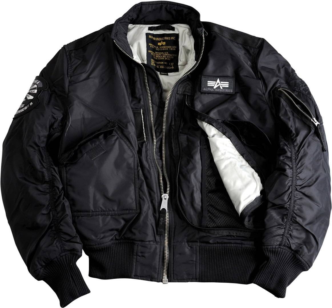 Alpha Industries Engine Jakke Svart XL