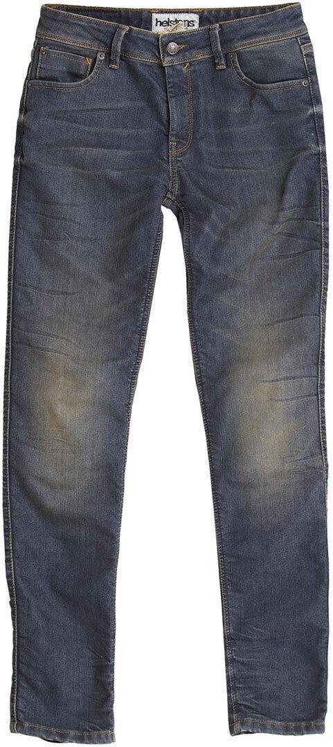 Helstons Dena Dame Bukser Jeans 28 Blå