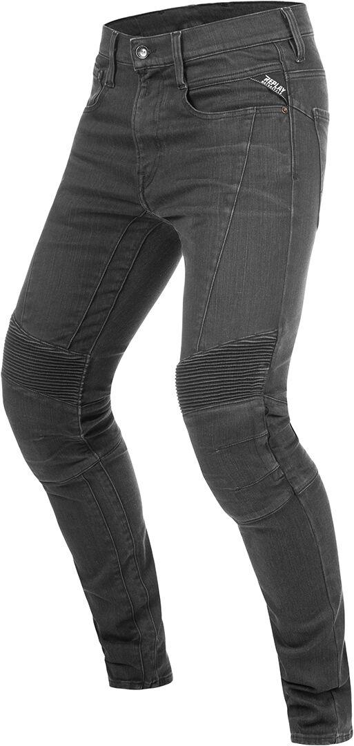Replay Fender Motorsykkel Jeans 32 Grå