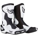 Berik Race-X Racing Motorsykkel støvler Svart Hvit 41