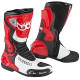 Berik Losail Motorsykkel støvler Rød 42