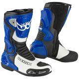 Berik Losail Motorsykkel støvler Blå 40