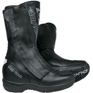 Daytona Lady Star GTX Gore-Tex vanntett damer motorsykkel støvler Svart 35