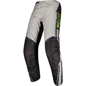 Scott 350 Race Motocross bukser 30 Grå Gul