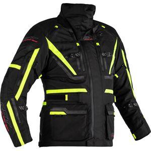 RST Pro Series Paragon 6 Airbag Motorcycle Textile Jacket Airbag Motorsykkel tekstil jakke 52 Svart Gul