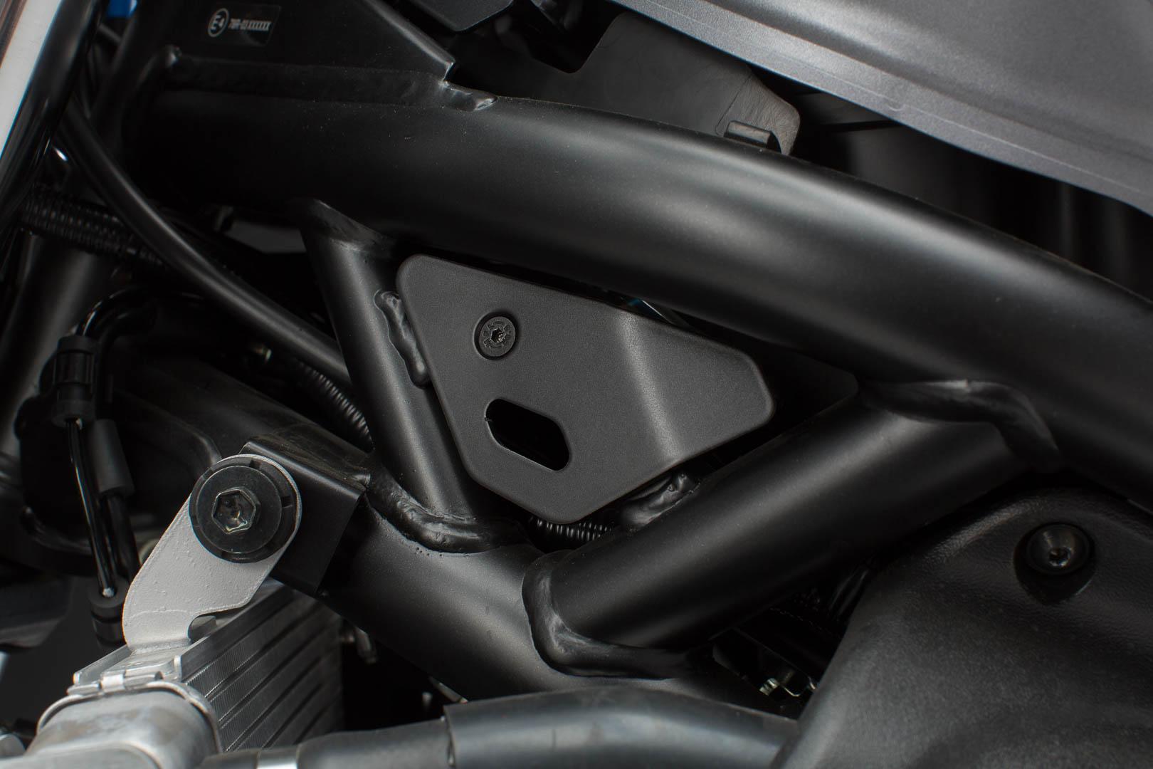 SW-Motech Ramme deksel sett - 2 stk. Svart. Suzuki SV650 ABS (15-). en størrelse Svart