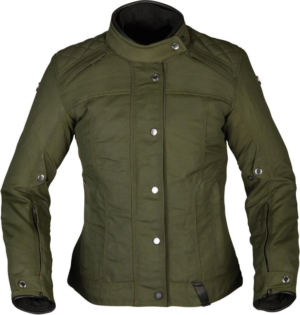 Modeka Thiago Ladies Motorsykkel tekstil jakke 44 Grønn