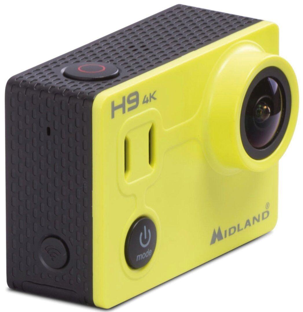 MIDLAND H9 4K Ultra HD Action kamera en størrelse Gul