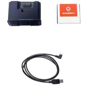 Schuberth SC1 Advanced kommunikasjonssystem en størrelse Svart