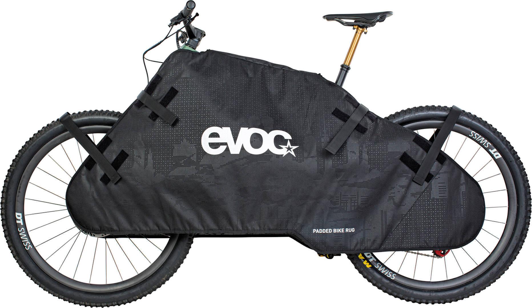 Evoc Padded Bike Rug Dekning for transport Svart en størrelse