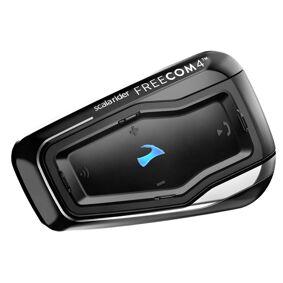 Cardo Scala Rider Freecom 4 Kommunikasjon systemet enkelt Pack en størrelse Svart
