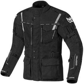 Berik Torino Vanntett motorsykkel tekstil jakke 50 Svart