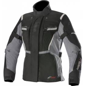 Alpinestars Stella Bogota V2 Drystar Ladies tekstil jakke XL Svart Grå