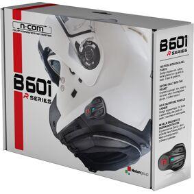 Nolan B601 R N-Com Bluetooth Kommunikasjon Sytem enkelt Pack en størrelse Svart