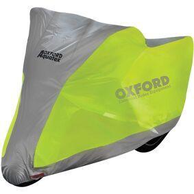 Oxford Aquatex Motorsykkel Deksel flourescent S Sølv