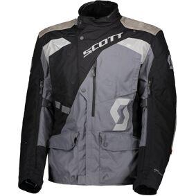 Scott Dualraid Dryo Motorsykkel tekstil jakke M Svart Grå