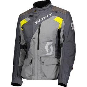 Scott Dualraid Dryo Ladies Motorsykkel tekstil jakke 38 Grå Gul