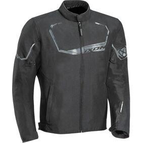 Ixon Challenge Motorsykkel tekstil jakke XL Svart