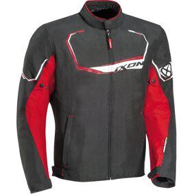 Ixon Challenge Motorsykkel tekstil jakke 3XL Svart Rød
