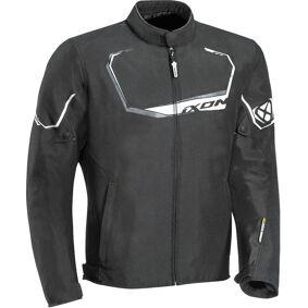 Ixon Challenge Motorsykkel tekstil jakke 3XL Svart Hvit