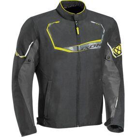 Ixon Challenge Motorsykkel tekstil jakke M Svart Grå Gul
