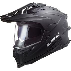 LS2 MX701 Explorer HPFC Solid Motocross Hjelm S Svart