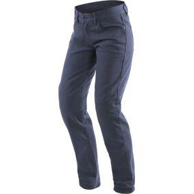 Dainese Casual Regular Ladies Motorsykkel tekstil bukser 34 Blå