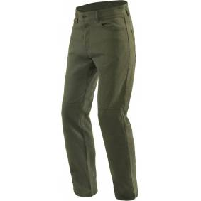 Dainese Casual Regular Motorsykkel tekstil bukser 36 Grønn