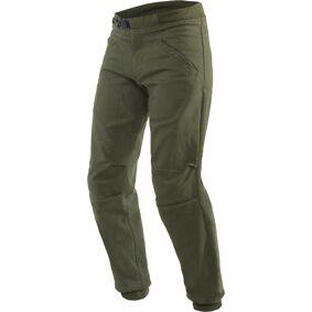 Dainese Trackpants Motorsykkel tekstil bukser 30 Grønn