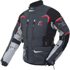 Rukka Rimo-R Motorsykkel tekstil jakke 62 Svart Grå Hvit Rød