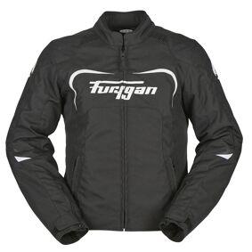 Furygan Cyane Ladies Motorsykkel tekstil jakke L Svart Hvit