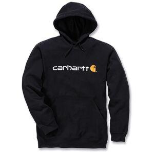 Carhartt Signature Logo Midweight Hoodie Hettegenser S Svart