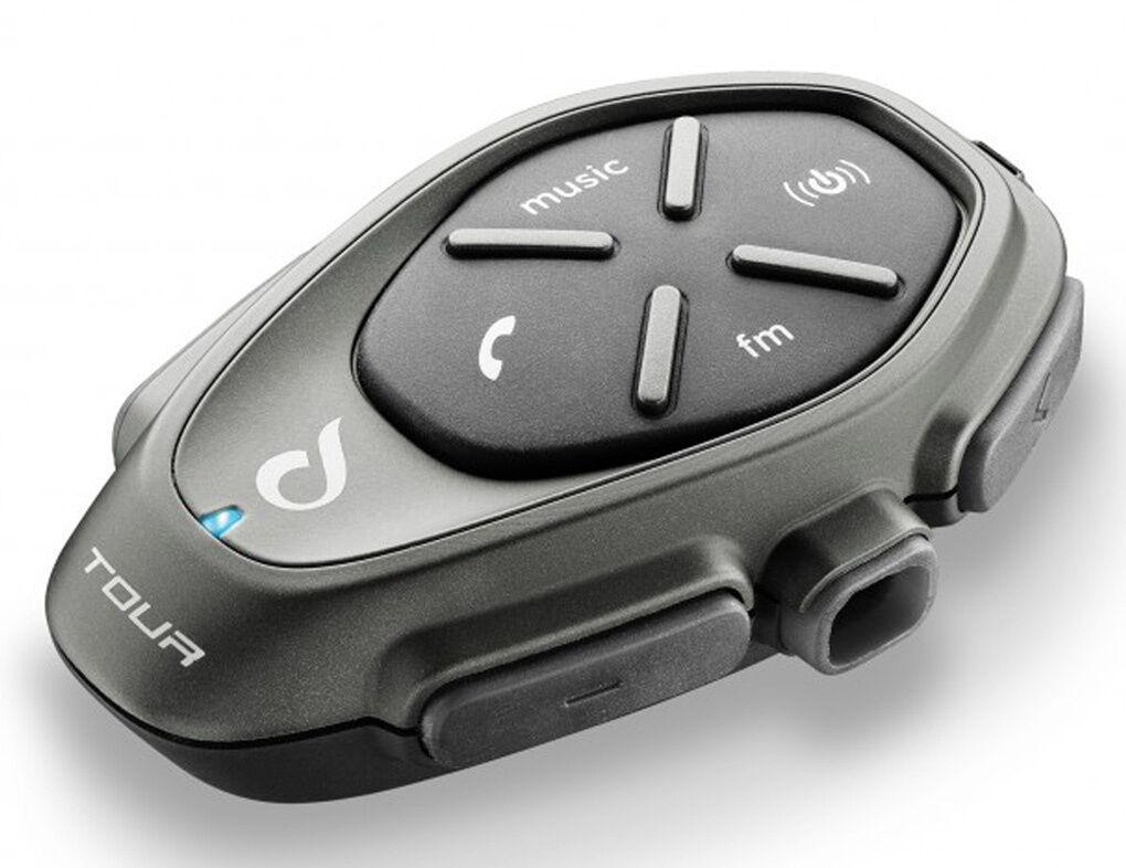 Interphone Tour Bluetooth kommunikasjonssystem Svart en størrelse