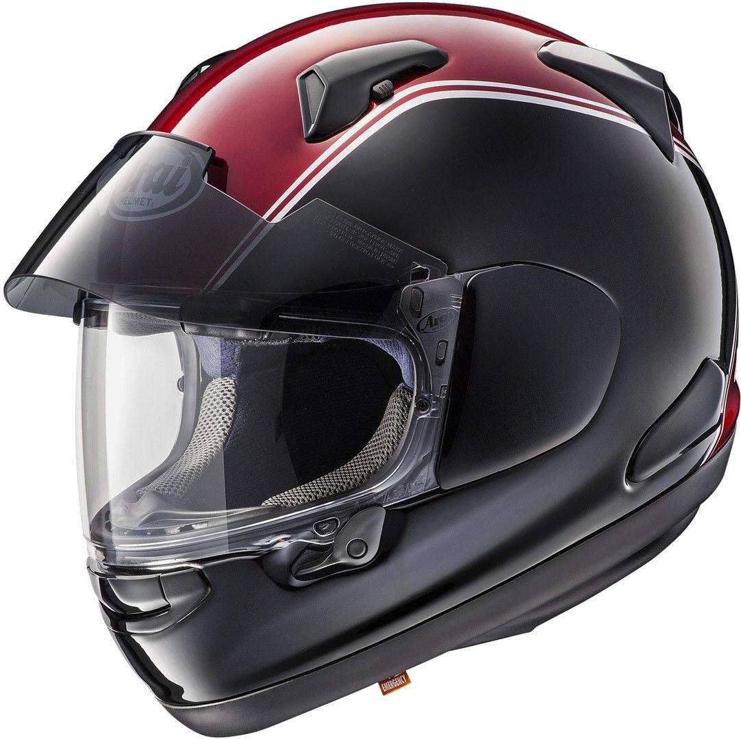Arai QV-Pro Honda Goldwing Hjelm Svart Rød XL