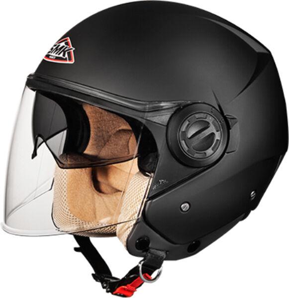 SMK Cooper Jet hjelm Svart XS